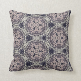 Lace Patterns Throw Pillows