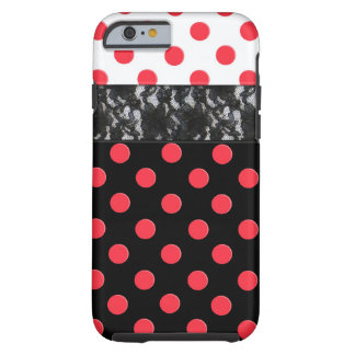 Lace Polka Dot iPhone 6 Case