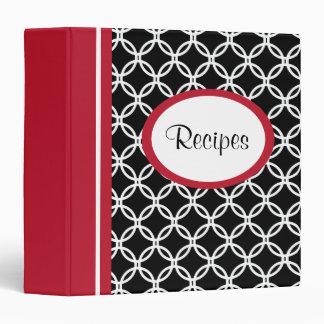 Lace Recipe Organizer Cookbook Binder Gift