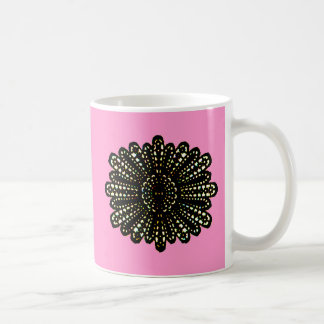 Lace Rose Colored 2 The MUSEUM Zazzle Gifts Coffee Mug