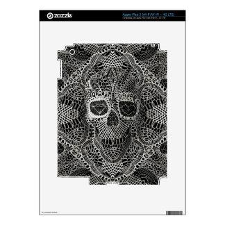 Lace Skull iPad 3 Skin