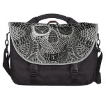 Lace Skull Laptop Bags