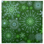 Lace Snowflakes 3 Cloth Napkins