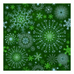 Lace Snowflakes 3 Posters