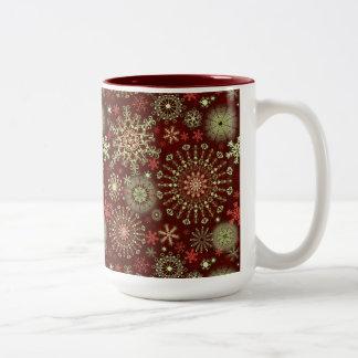 Lace Snowflakes 4 Coffee Mug