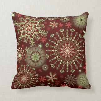Lace Snowflakes 4 Pillows