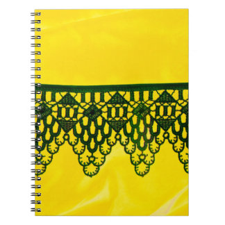 Lace Spiral Notebook