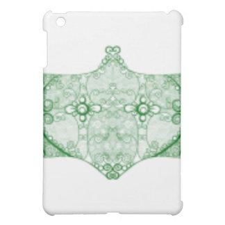 Lace Strip Green iPad Mini Covers