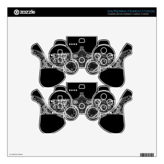 Lace strip White PS3 Controller Skin