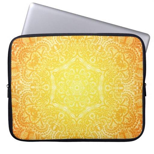 Lace Sunburst Electronics Bag Computer Sleeve