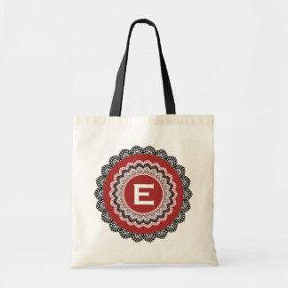 Lace Trimmed Custom Name Sentiment V28 Tote Bag