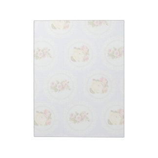 Lace Victorian Floral pattern Memo Note Pad