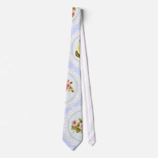 Lace Victorian Floral pattern Tie