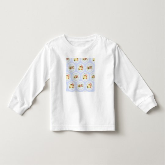 Lace Victorian Floral pattern Toddler T-shirt