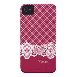 Lace Vintage Elegant Any Color Blackberry Bold Cas iPhone 4 Cover