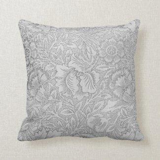 Lace Wallpaper Monochrome Pillows