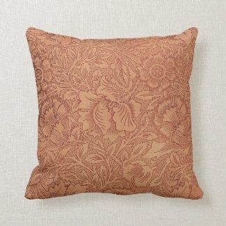 Lace Wallpaper Orange