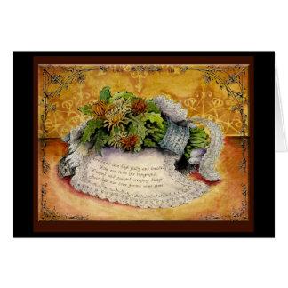 Lace Wedding Anniversary: Jupigio-Artwork.com Greeting Card