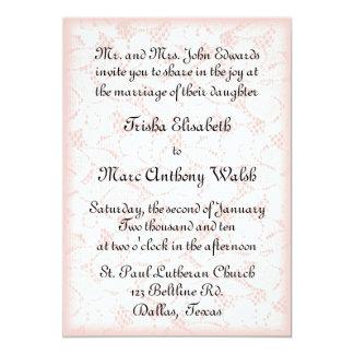 Lace Wedding Invitation