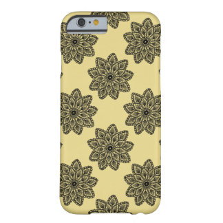 Lace with beige background barely there iPhone 6 case