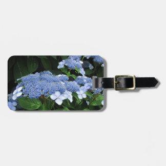 Lacecap Hydrangea ~ Luggage tag
