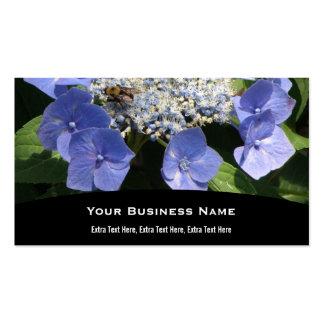 Lacecap Hydrangeas Business Card