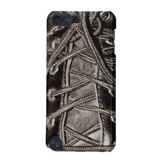 Laced up Leather Shoes or Boots iPod Touch 5G Cover