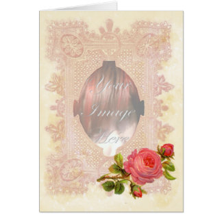 Laced Valentine Card
