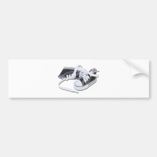 LacedTennisShoes032112.png Bumper Sticker