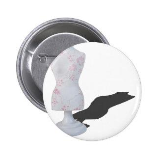 LaceOnDressForm010415.png Pinback Button