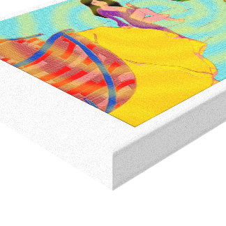Lacerated Canvas Print
