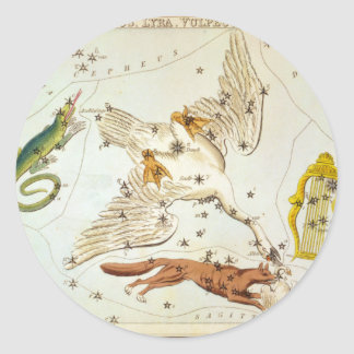 Lacerta, Cygnus, Lyra, Vulpecula and Anser Stickers