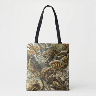 Lacertilia by Ernst Haeckel Vintage Lizard Animals Tote Bag