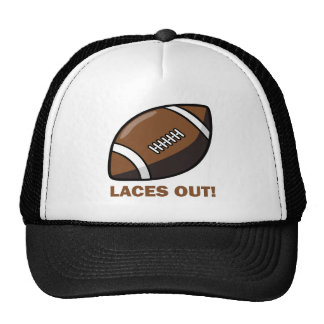 Laces Out Mesh Hats