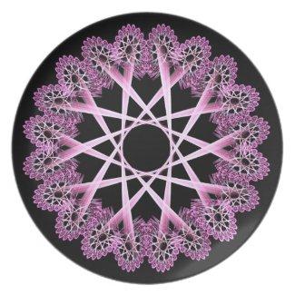 Lacework window (pink)
