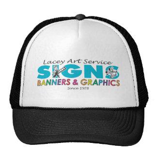 Lacey Art Logo Mesh Hat
