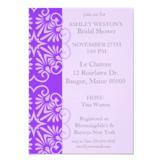 Lacey Bridal Shower Invitation