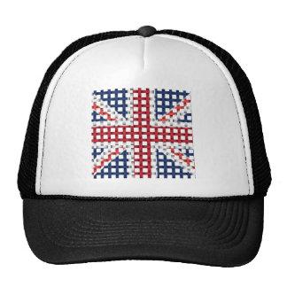 Lacey British flag Mesh Hat