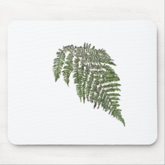 Lacey fern mouse pad