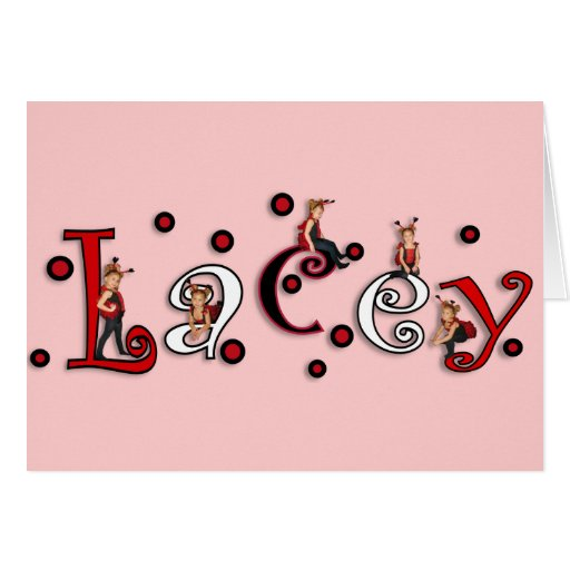 Lacey Greeting Card