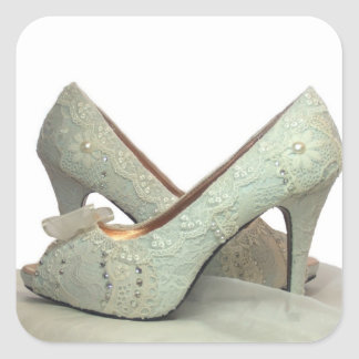 Lacey heel shoes sticker