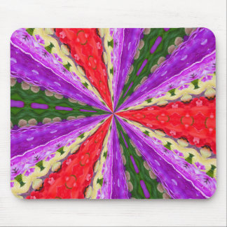 Lacey Kaleidoscope Mouse Pad