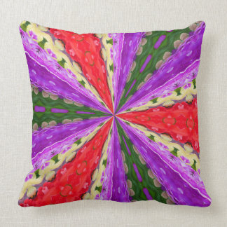 Lacey Kaleidoscope Throw Pillow
