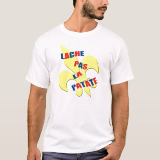 """Lache pas la patate"" (Don't give up)French T-Shirt"