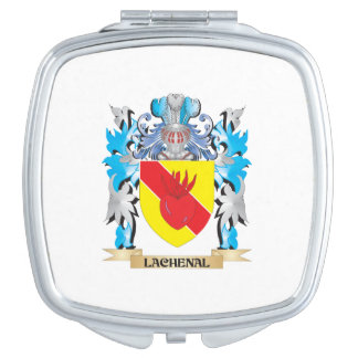 Lachenal Coat of Arms - Family Crest Travel Mirrors