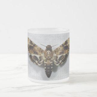 Lachesis del Acherontia de Hawkmoth de la cabeza Taza De Cristal