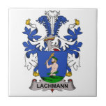 Lachmann Family Crest Ceramic Tile