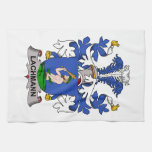 Lachmann Family Crest Hand Towels