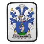 Lachmann Family Crest iPad Sleeve