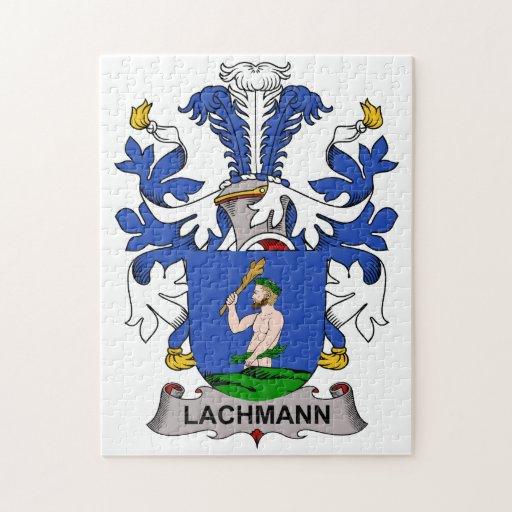 Lachmann Family Crest Puzzle